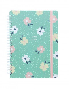 Floral A5 Week to View Diary 2020-2021