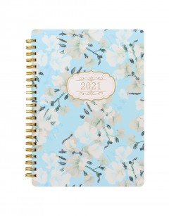 Bloom A5 Week to View Diary 2021