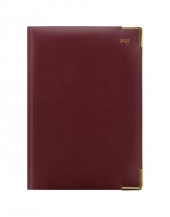 Classic A5 Day to Page Diary with Appointments 2021
