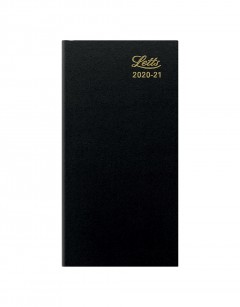 Standard Compact Week to View Diary 2020-2021 Black