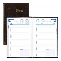 Daily Planner 2021, English, Black