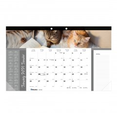 Monthly Desk Pad Furry Collection 2021