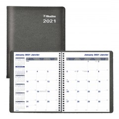 Net Zero CarbonTM Monthly Planner 2021, Black