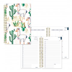 Academic Daily Planner Cactus 2020-2021 - English