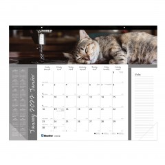 Furry Collection Monthly Desk Pad 2022