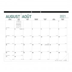 Academic Monthly Desk Pad Pure 2021-2022