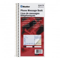 Telephone Message Book
