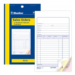 Sales Orders Book