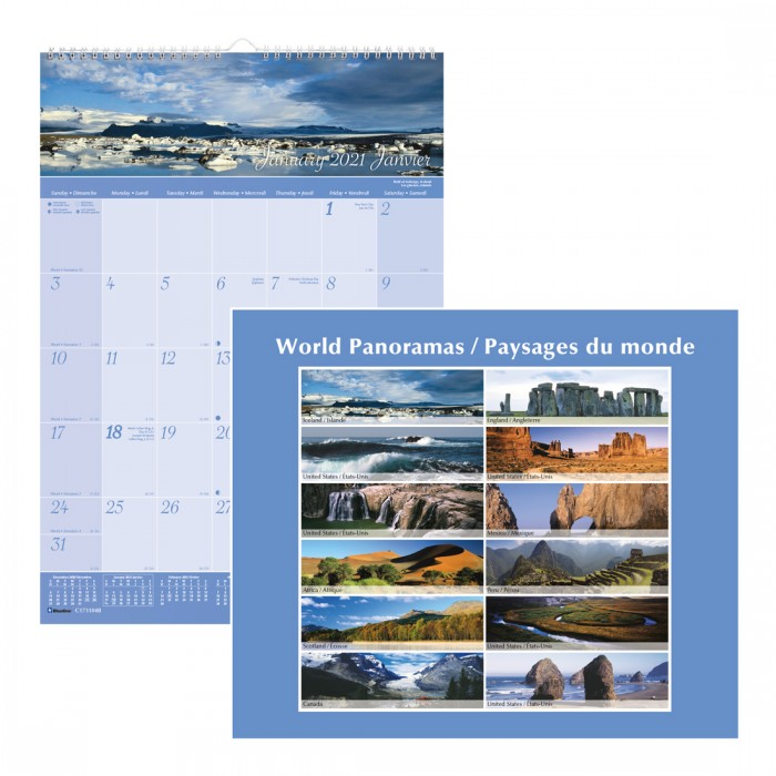 Imagine Collection Wall Calendar 2021