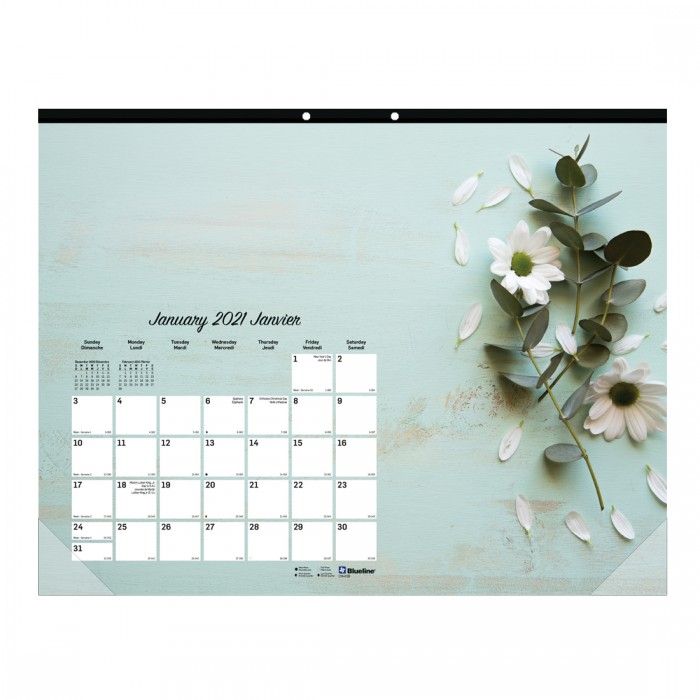 Monthly Desk Pad Romantic 2021