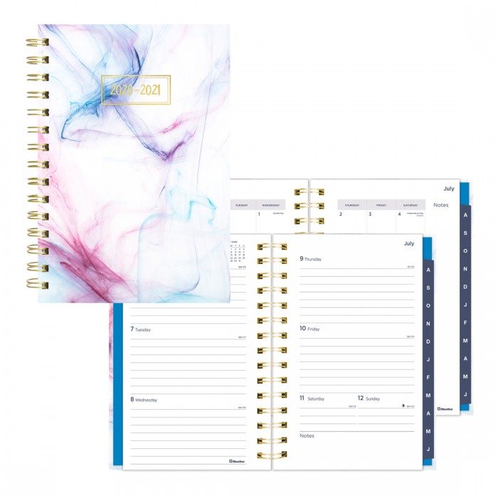 Academic Weekly Planner Rush 2020-2021 - English
