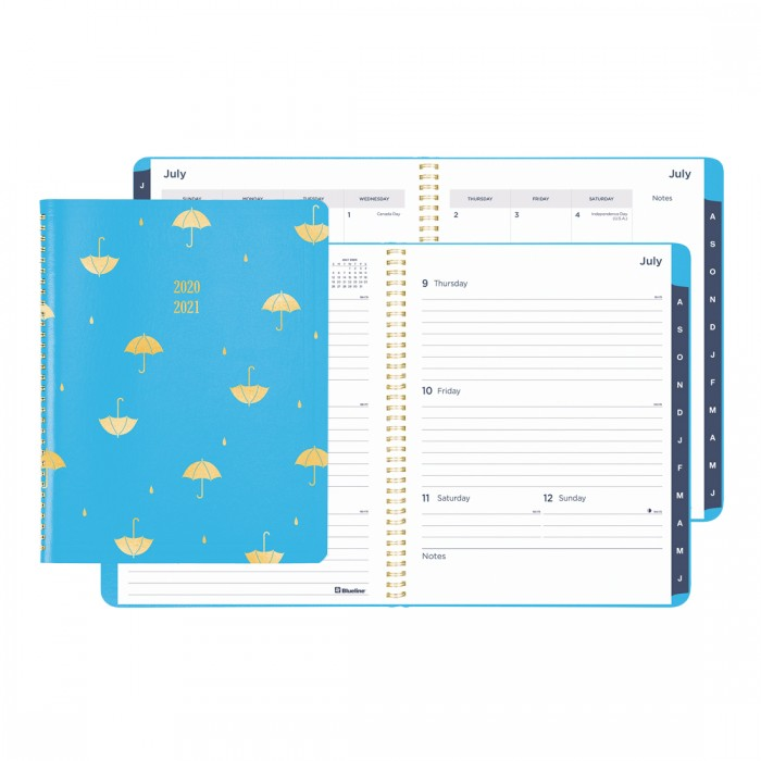 Academic Weekly Planner Funsie 2020-2021 - English