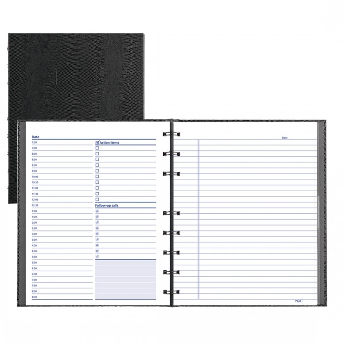 photograph about Daily Planner Notebook called NotePro Undated Day by day Planner