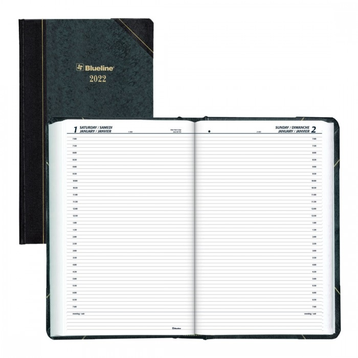 Daily Planner 2022 Green