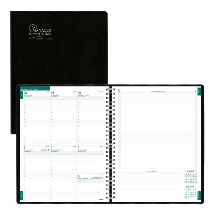 Timanager Academic Weekly Planner 2021-2022