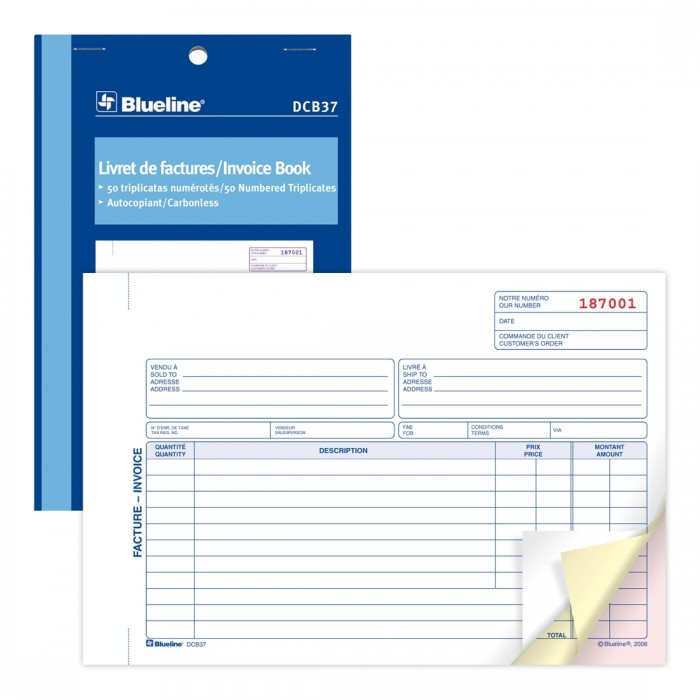 Invoices Book