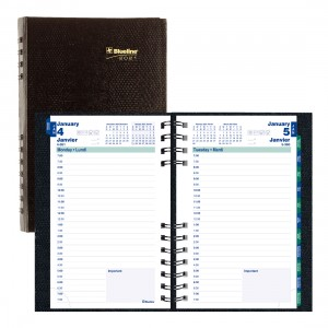 Daily CoilPro Planner 2021, Black