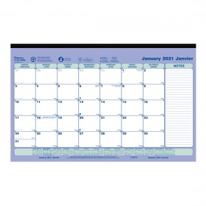 Monthly Desk Pad with magnets 2021