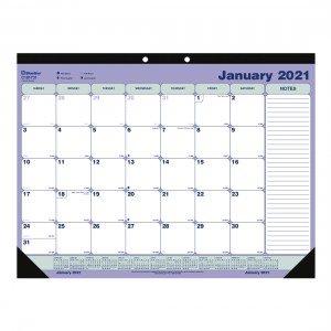 Desk Pad or Wall Calendar 2021, English