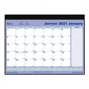 Monthly 2021, Refill for Desk Pad C191722B