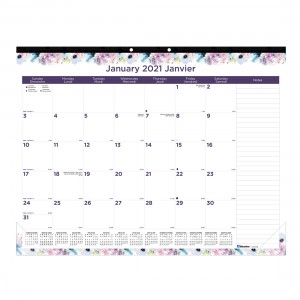 Monthly Desk Pad Passion 2021