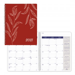 DuraGlobe Monthly Planner 2021,  Joyful