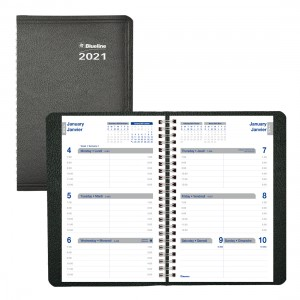 Net Zero CarbonTM Weekly Planner 2021, Black