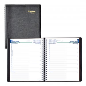 Daily Planner 2021, Black