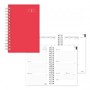 Academic Weekly Planner Color rush 2020-2021 - English