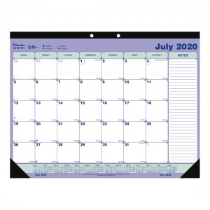 Academic Monthly desk pad 2020-2021 - English
