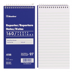 Reporter Note Pad