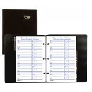 Telephone and Address Binders