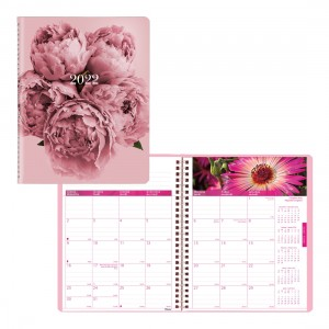 Pink Ribbon Monthly Planner 2022, Pink