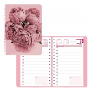 Essential Pink Ribbon Daily Planner 2022, Pink