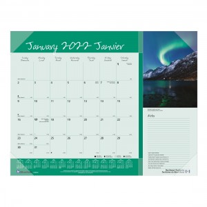 Imagine Collection Monthly Desk Pad 2022, Canadian provinces