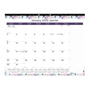 Passion Monthly Desk Pad 2022
