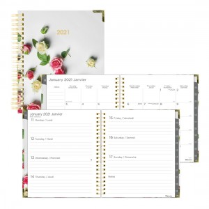 Weekly Planner Romantic 2021
