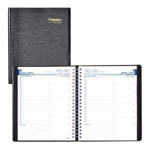 Essential Daily Planner 2022, Black