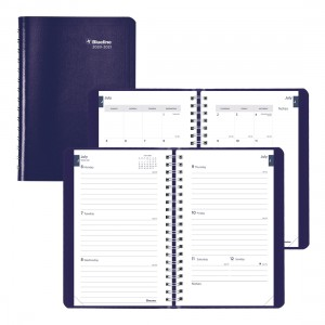 Academic Weekly Planner Classic 2020-2021 - English