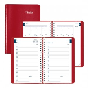 Academic Daily Planner Classic 2021-2022, English