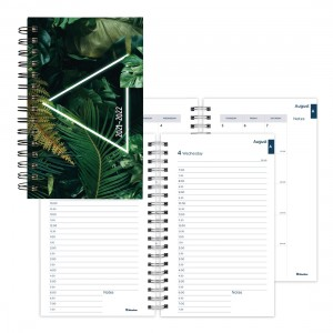 Academic Daily Planner Neon 2021-2022, English