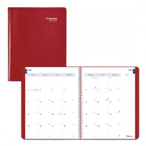 Academic Monthly Planner Classic 2021-2022, English