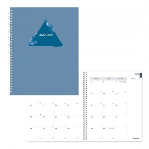 Academic Monthly Planner Stone 2020-2021 - English
