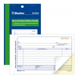 Delivery Receipts Book