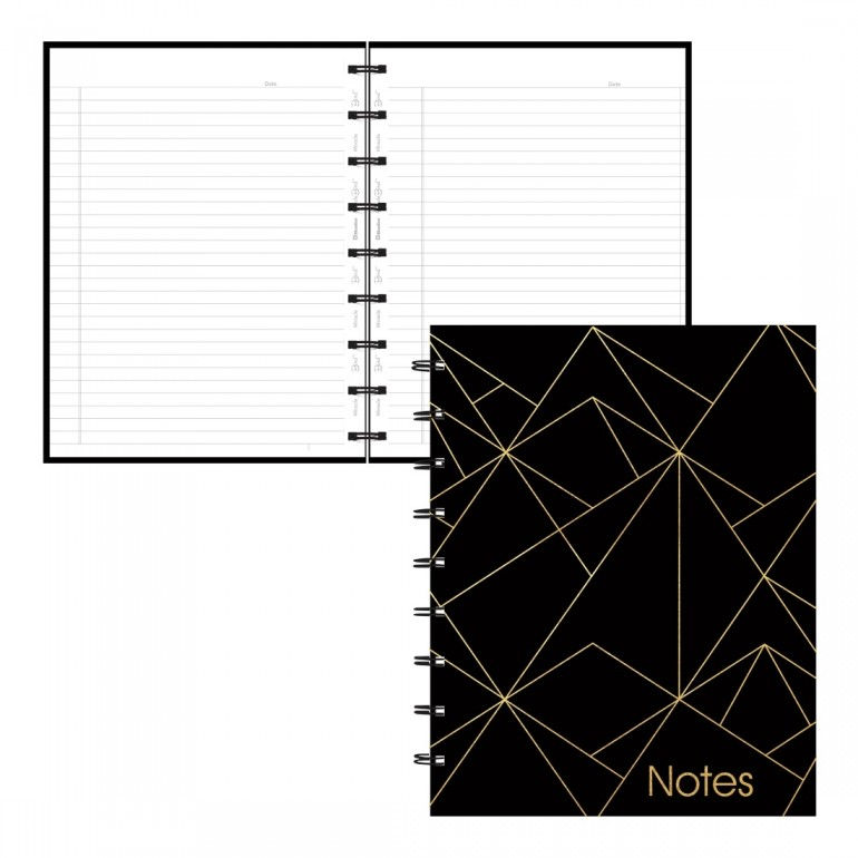 2019 gold collection monthly desk pad