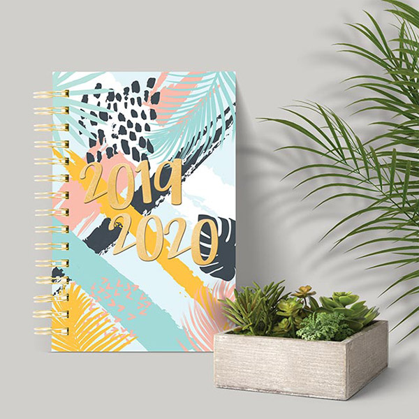 Tropical Collection 2019-2020 Blueline Planners!