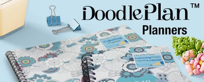Blueline DoodlePlan Collection